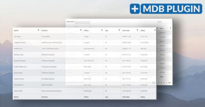 Datatables