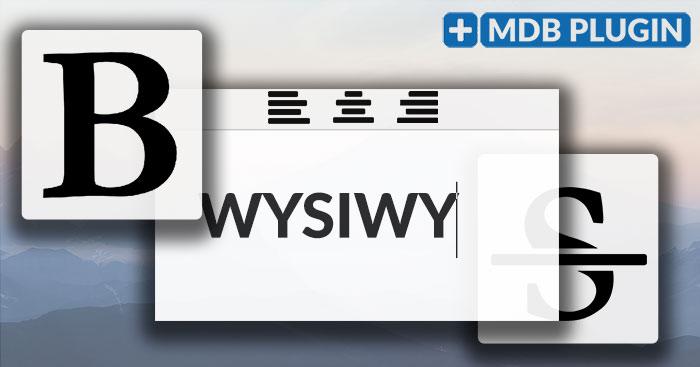 WYSIWYG