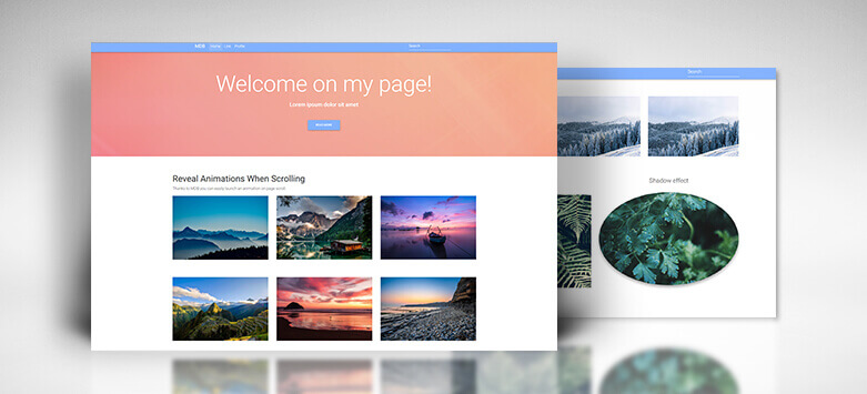 Material Design for Bootstrap - CSS