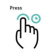 Press gesture