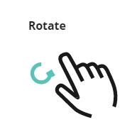 Rotate gesture