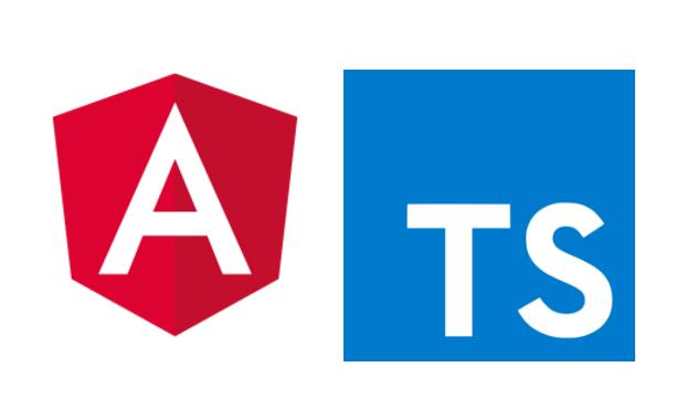 Angular & Typescript logos