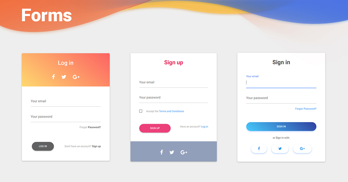 React Forms Bootstrap 4 Material Design Examples Tutorial Material Design For Bootstrap