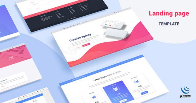 MD Bootstrap Landing Template