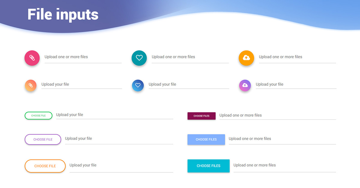 angular bootstrap file input  bootstrap 4  material