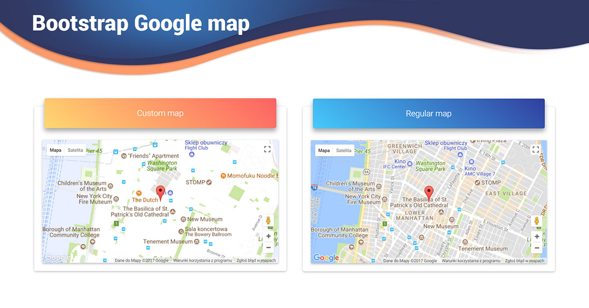 Angular Maps - Bootstrap 4 & Material Design. Examples ...