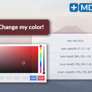 bootstrap plugin color picker jquery