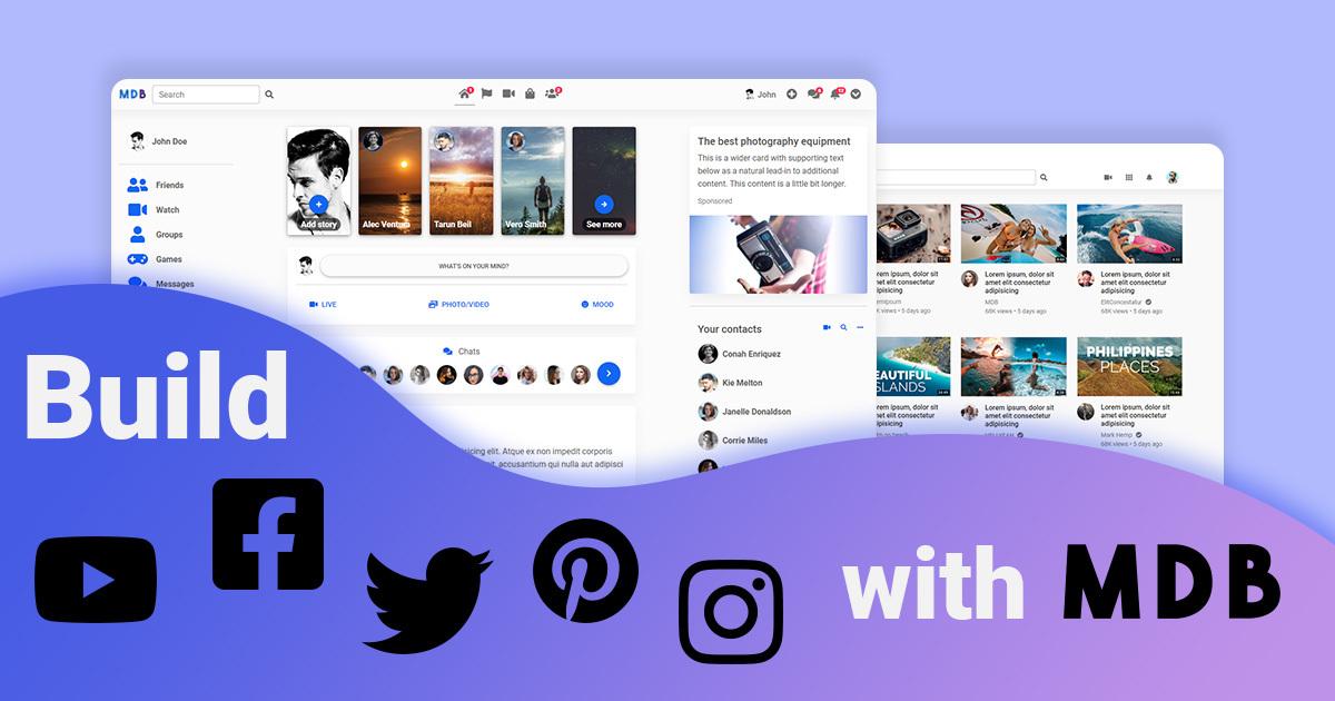 Create worldwide top websites from scratch | Facebook, YouTube, Instagram
